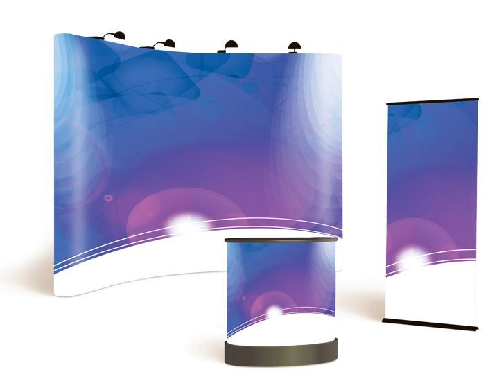 Roller Banner & Pop-Up Display Media