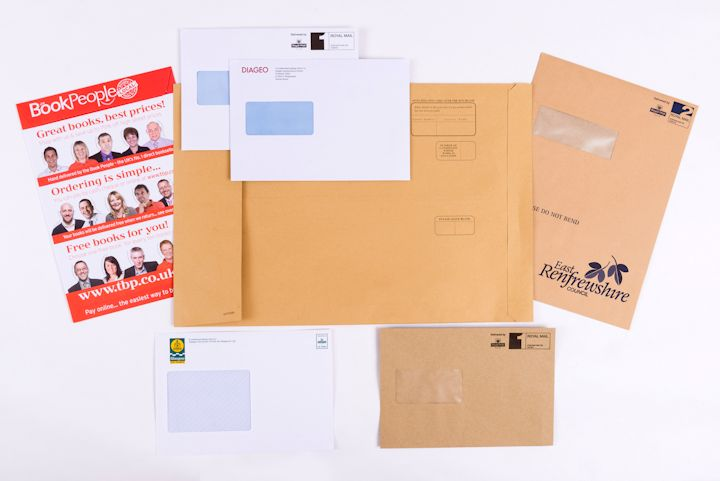 Clyde Printing Service - Printed Envelopes