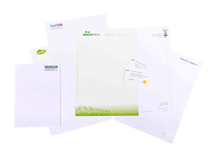 printed business stationery and forms clyde paper print