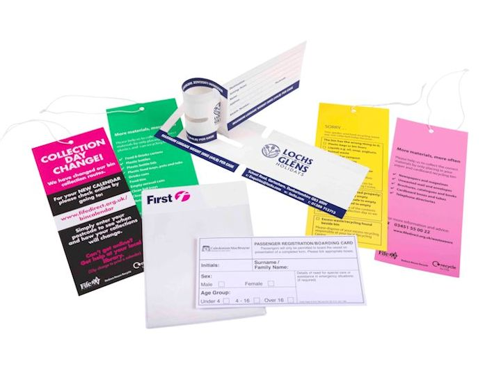 Clyde Printing Service - Printed Labels, Tags and Tickets