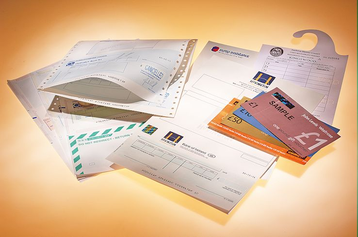 Clyde Printing Service - Security Print, Printed Cheques, Financial Forms, etc
