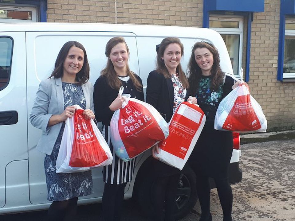 Clyde staff donate their unwanted items to help beat heart disease