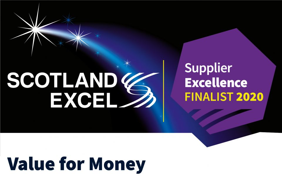 Finalist in the Supplier Excellence Awards!
