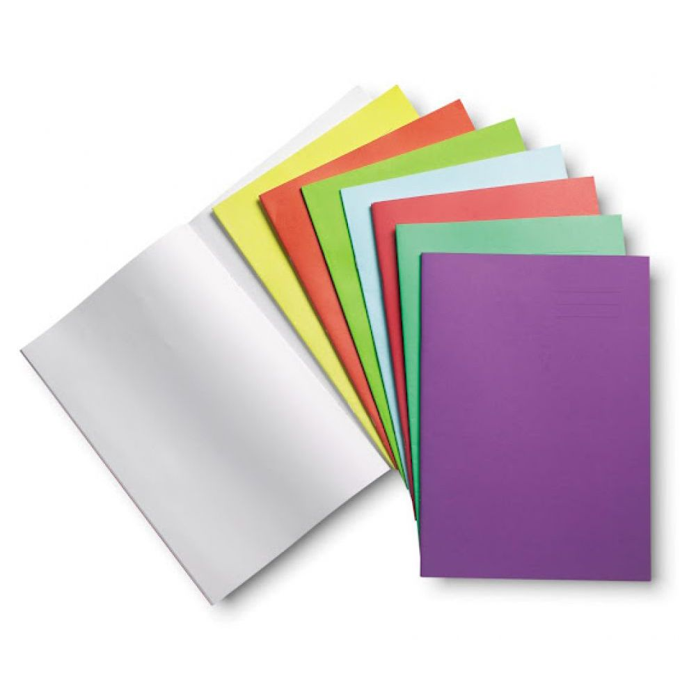 Exercise Book Cover Paper ~ A exercise books blank p light green ref clyde