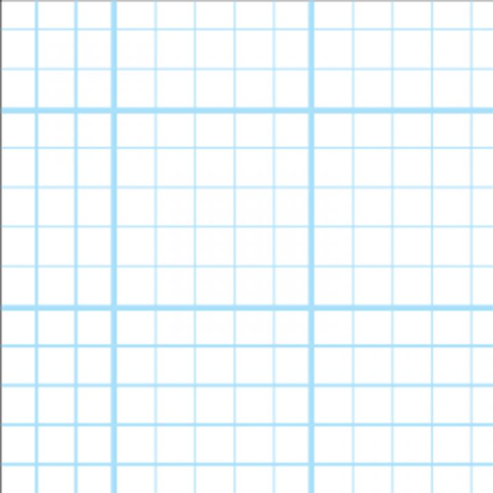9 x 7 inch graph paper 2 10 20mm grid unpunched