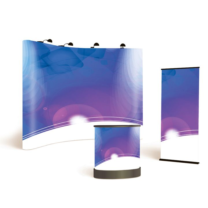 Pop-up Film Satin 310mic 1372mm x 20m roll DesignGraphics Solvent