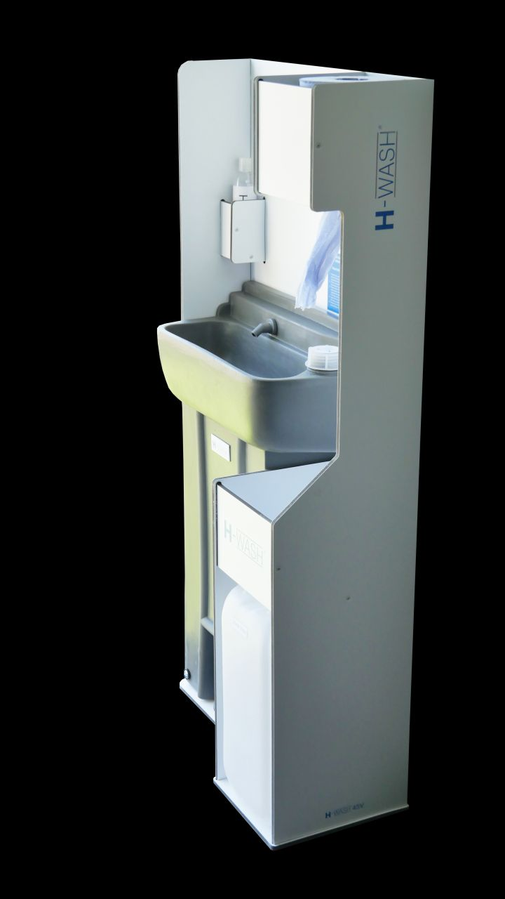 H-Wash45V - Vehicle Handwash Unit with Soap and Towel Dispenser