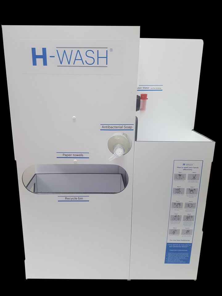 H-Wash5 - Van Mounted Handwash Unit