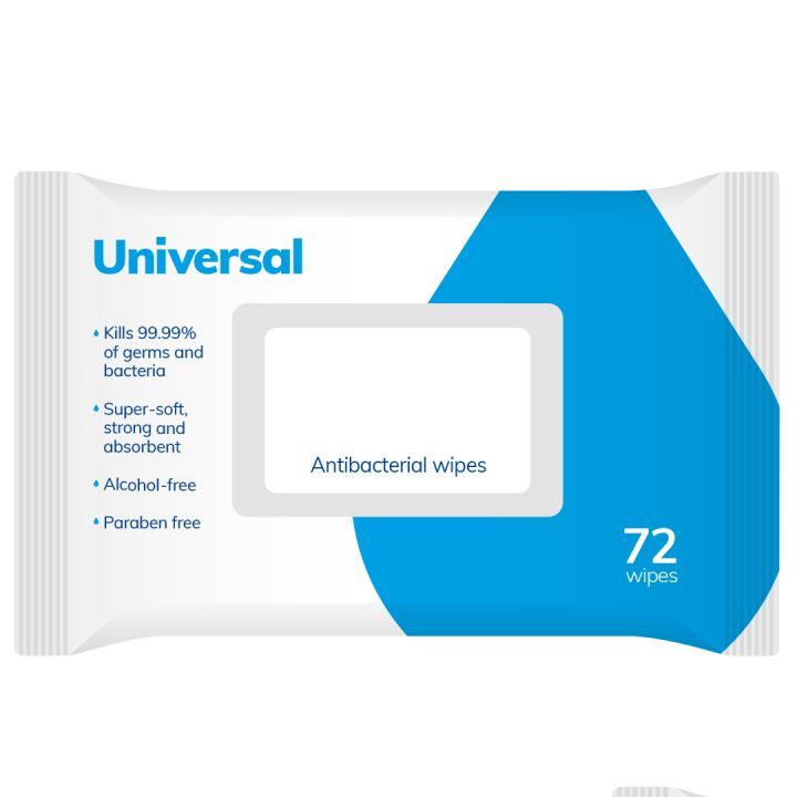 Anti-Bacterial Universal Wipe *IN STOCK FOR NEXT DAY DELIVERY*