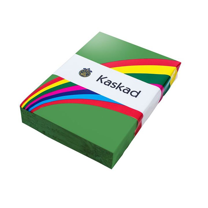 Kaskad Coloured Card A4 160gsm Woodpecker Green