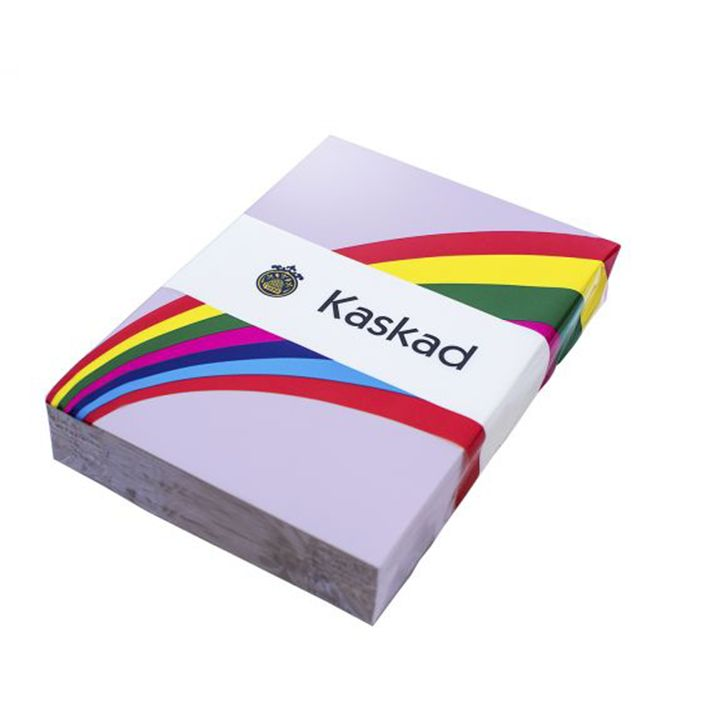 Kaskad Coloured Card A4 160gsm Skylark Violet