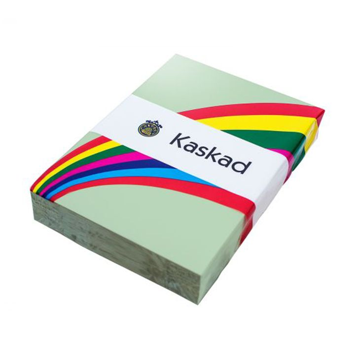 Kaskad Coloured Card A4 160gsm Siskin Green