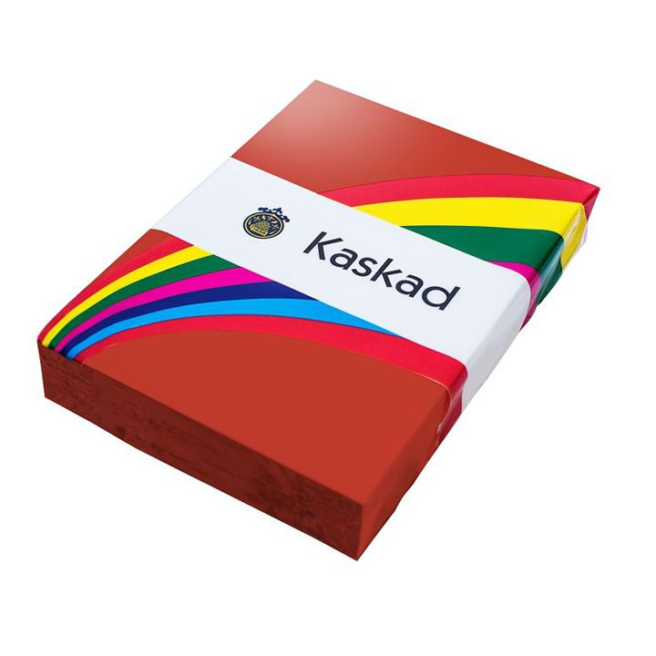 Kaskad Coloured Card A4 160gsm Robin Red