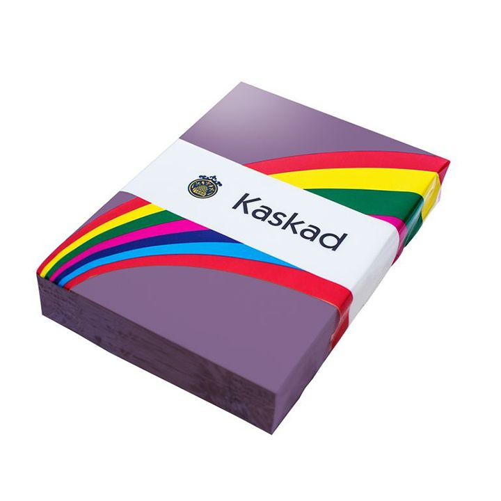 Kaskad Coloured Card A4 160gsm Plover Purple