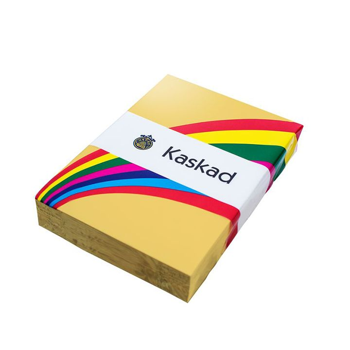 Kaskad Coloured Card A4 160gsm Pintail Cream