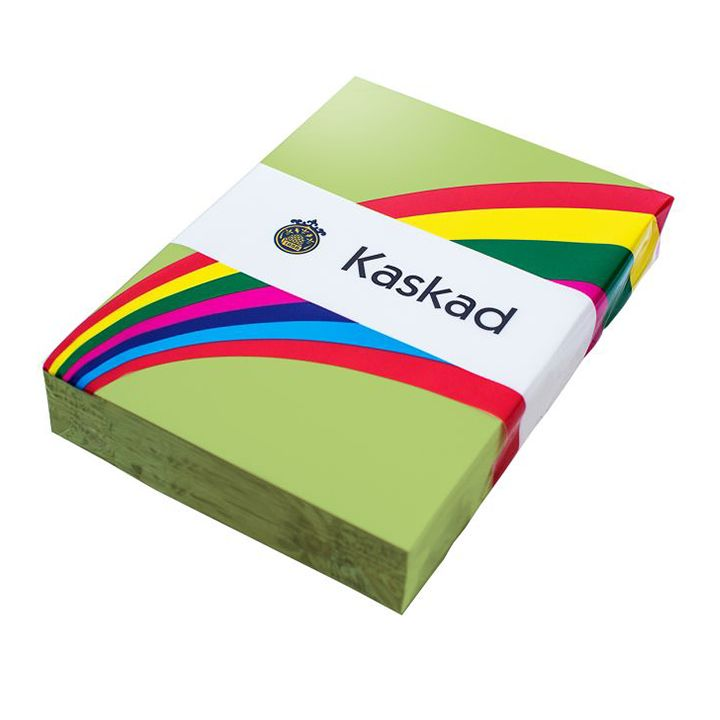 Kaskad Coloured Card A4 160gsm Parakeet Green