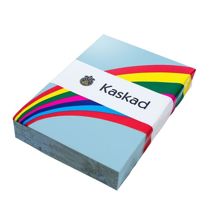 Kaskad Coloured Card A4 160gsm Merlin Blue