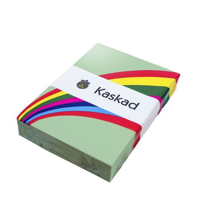 Kaskad Coloured Card A4 160gsm Leafbird Green
