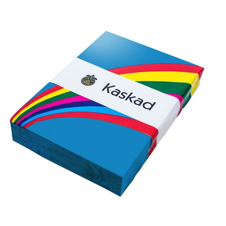 Kaskad Coloured Card A4 160gsm Kingfisher Blue