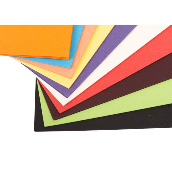 A3 Card 280mic Assorted Vivid Colours