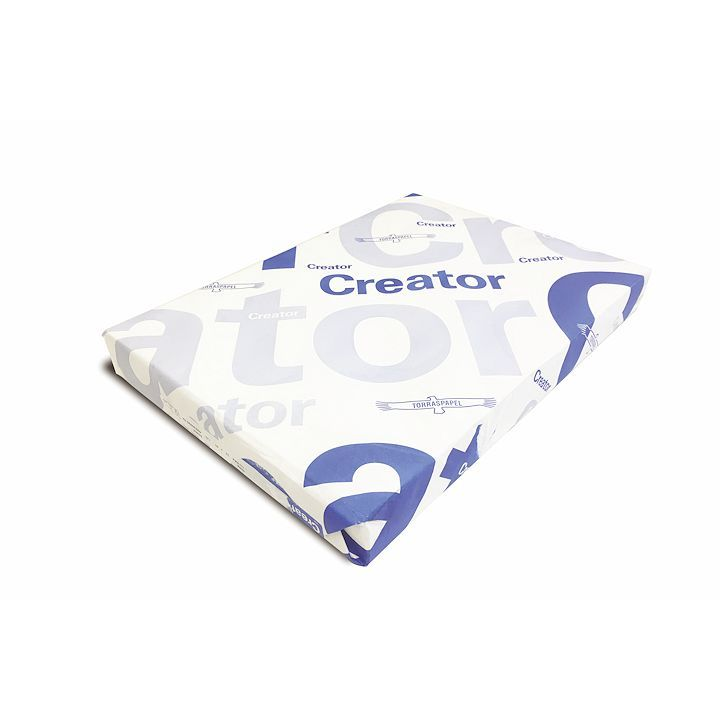Creator Star Gloss Coated Paper FSC 130gsm White SRA3, pack of 500
