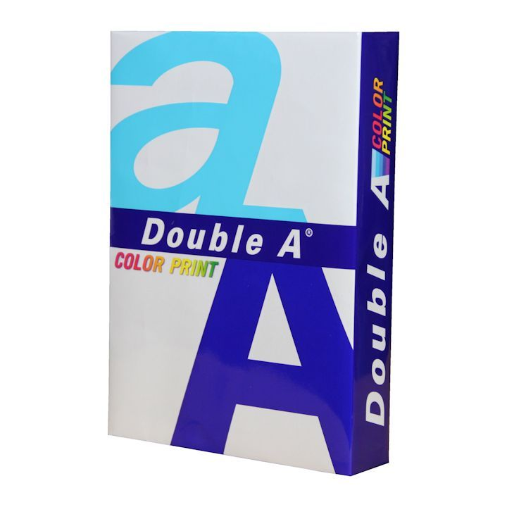 DoubleA A4 Color Print Paper 90gsm White, ream of 500 sheets