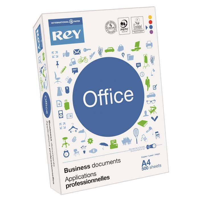 Rey Office Document Paper A4 90gsm White